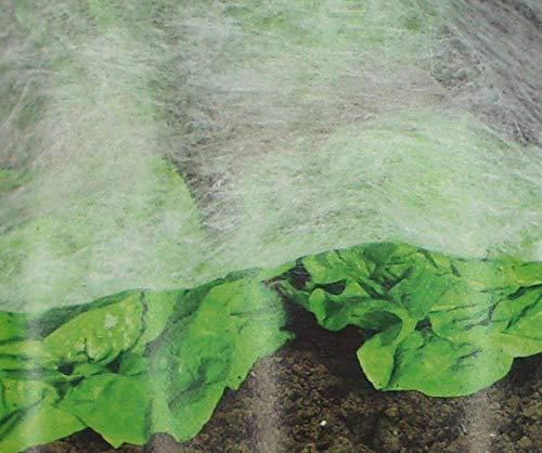 haus & garten Prima Flora 2 x Frühbeetvlies je 2x5m (insgesamt 4x5m) Frühbeet Schutz vor Vögel und Wildfraß