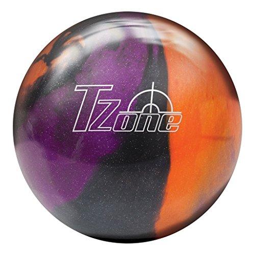Brunswick Tzone Ultraviolet Sunrise Bowling Ball Tzone Ultraviolet Sunrise Bowling Ball, Black/Purple/Orange, 9 lb