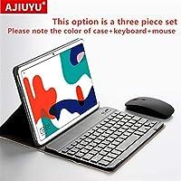 "XINGLAI 場合のHuawei社MatePad 10.4"" 2020 BAH3-W09 BAH3-AL00タブレット保護BluetoothキーボードプロテクターカバーPUレザーケースマウス ( Color : Case keyboard mouse )"