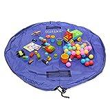 Schramm® Aufräumsack Kinder Spielmatte Spielzeugaufbewahrung Spieldecke Beutel mit Tunnelzug Spielzeugtasche