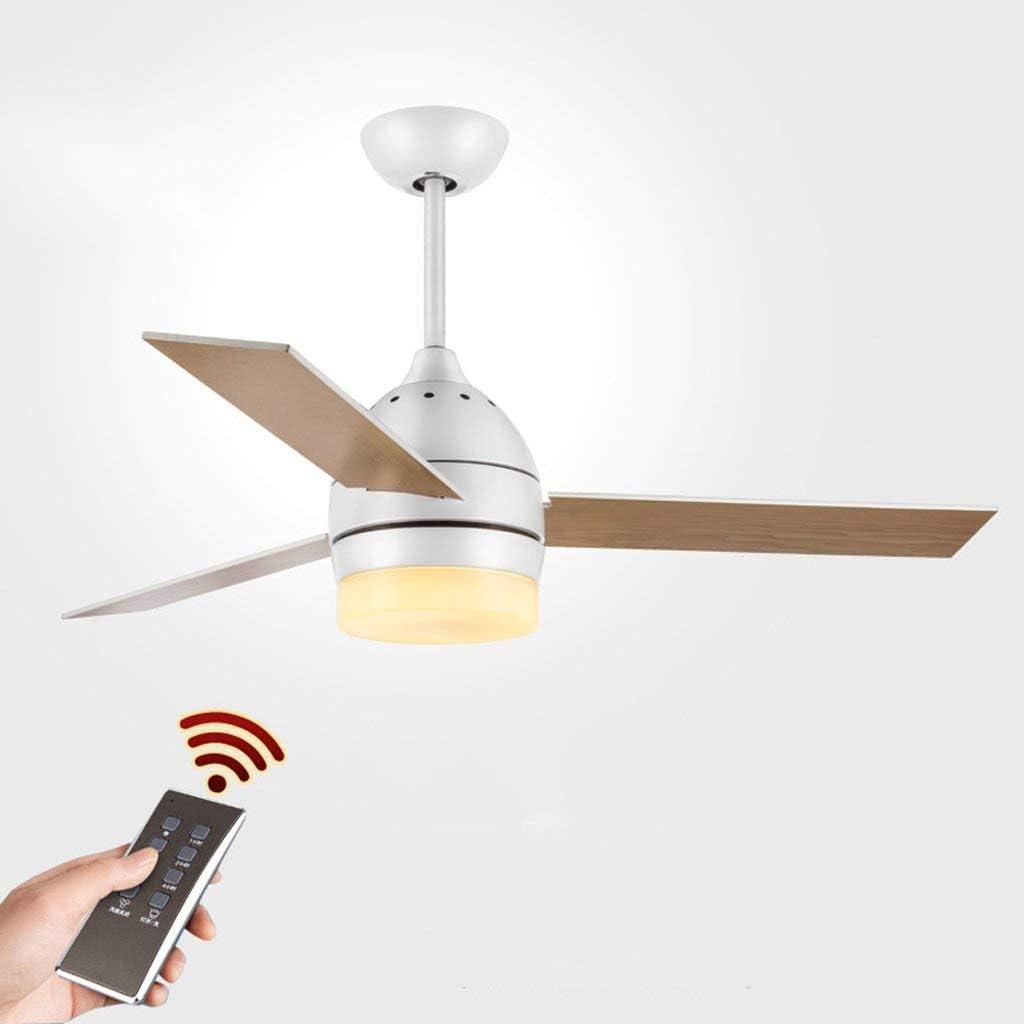 XXLYY Sala de Estar Industrial del Viento de la Fan del Restaurante Simple del Ventilador de Techo Americano con el Ventilador