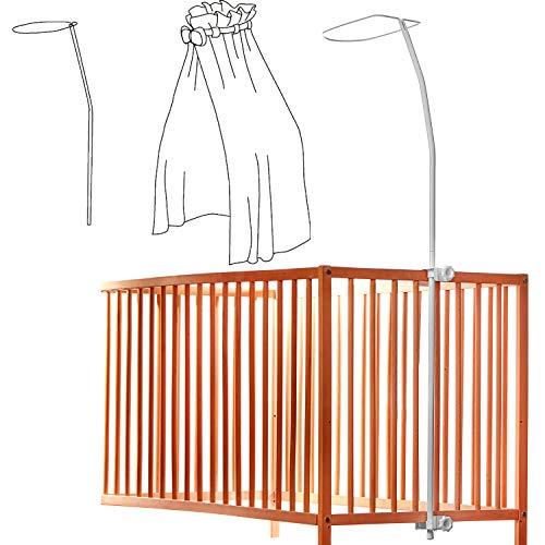 Canopy Drape soporte para cunas – práctico y universal – se adapta a todas las cunas estándar