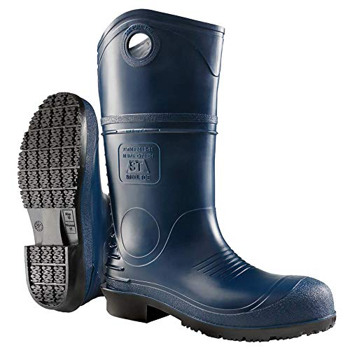 Dunlop 8908610 DURAPRO Boots with Safety Steel Toe, 100% Waterproof Polyblend PVC Material,...