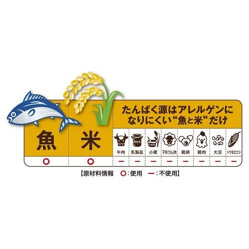 ペットラインメディコートアレルゲンカット『魚&お米1歳から成犬用』