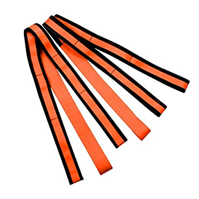 JCHL Moving Straps Lifting Strap for Furniture Appliances Mattresses Heavy Objects up to 800 Pounds 2-Person Furniture Moving Straps Appliances Carrying, Orange