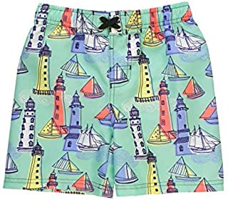 RuggedButts Little Boys Light The Way Swim Trunks - 3T [並行輸入品]