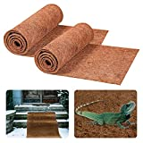 ATROPOS 2 Pack 24×40inches No Slip Ice and Snow Carpet,Winter Non Slip Walkway Natural Coir Doormat for Patio, Front, Weather Exterior Doors Walking Steadily On The Snow&Ice