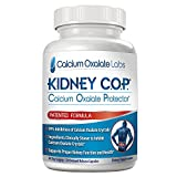 Kidney COP Calcium Oxalate Protector 120 Capsules, Patented Kidney Support for Calcium Oxalate Crystals, Helps Stops Recurrence of Stones, Stronger Than Chanca Piedra Stone Breaker Supplements