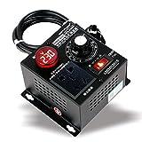 ZHITING-Interruptor de Atenuación, AC 220V 9A 4000W Regulador de Voltaje SCR Motor Regulador de Velocidad del Ventilador del Atenuador
