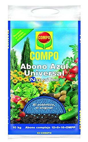 Compo Abono Azul Universal NovaTec 10 kg, Negro