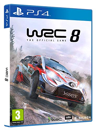 World Rally Championship 8 Playstation 4