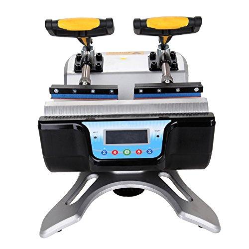 Ridgeyard Automatische Doppel Station Becher Transferpresse Maschine DIY Sublimation 2 Tassen in einem LCD Zeitsteuerung für Tasse Drucken - 3