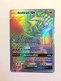 Pokemon Reshiram-GX 71/70 Secret Rare Sun & Moon: Dragon Majesty Cards