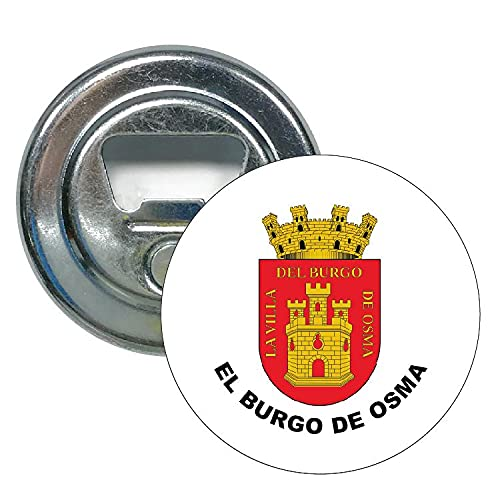 ABRIDOR REDONDO ESCUDO HERALDICO EL BURGO DE OSMA SORIA