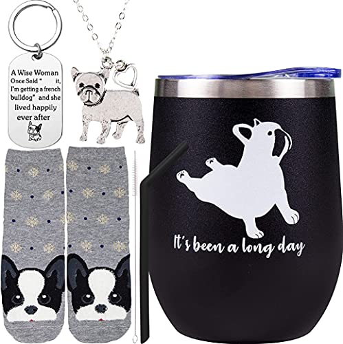 French Bulldog Gifts for Women, Frenchie Lovers Gifts for Women, French Bulldog Yoga, French Bulldog Lover Gifts, Frenchie Gifts for Women, French Bulldog Lover Gifts, French Bulldog Tumbler