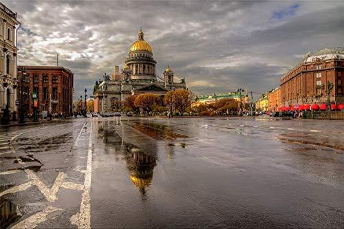 Rompecabezas 1000 Piezas St. Petersburg, After The Rain, Classic Puzzle 3D Puzzle Diy Kit Juguete De Madera Regalo Único Decoración Del Hogar