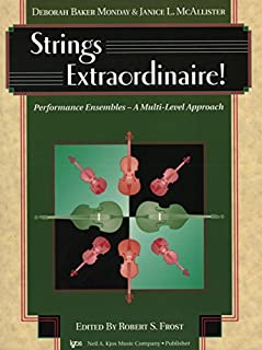 98PA - Strings Extraordinaire! - Piano Accompaniment by Deborah Baker Monday and Janice L. McAllister (1999-01-01)