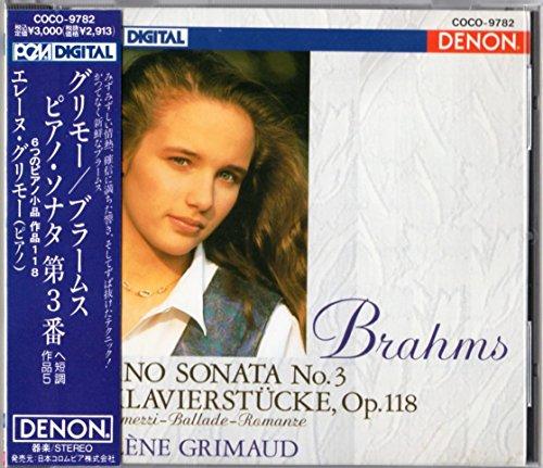 ブラームス:ピアノ・ソナタ 第3番 ヘ短調 作品5