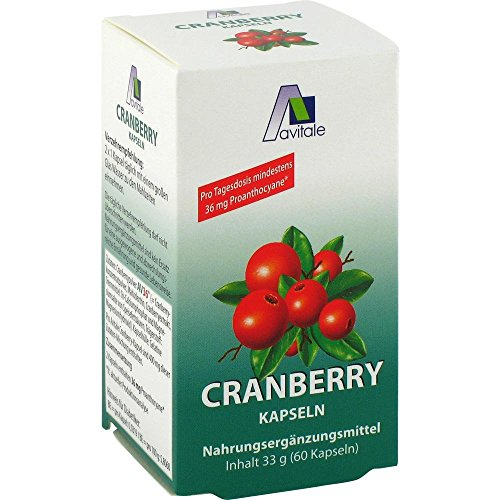 avitale CRANBERRY KAPSELN 400 mg - 60 St Kapseln 04125419