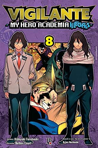 Vigilante My Hero Academia Illegals Volume 08