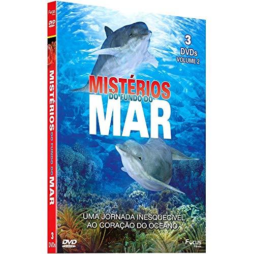 Box Mistérios do Fundo do Mar 3 DVDs - Vol. 2
