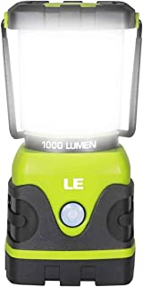 LE LED Camping Lantern, Battery Powered LED with 1000LM,...