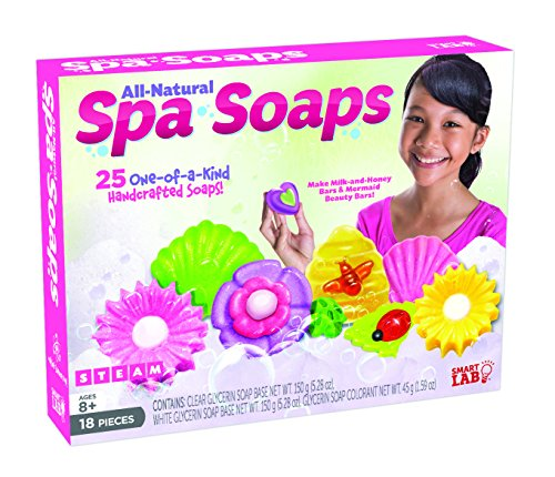 SmartLab Toys All-Natural Soaps Science Kit, Package may vary
