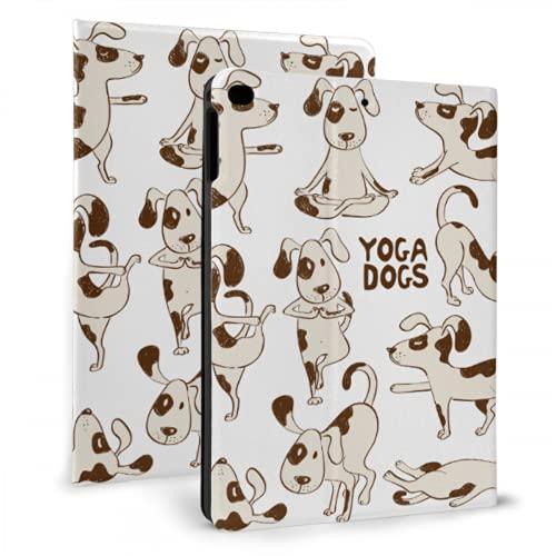 AlAlAl Funny Dog Beagle Doing Yoga Funda para iPad Funda Protectora Compatible con iPad Mini 4 / Mini 5/2018 6th / 2017 5th / Air/Air 2 con Auto Wake/Sleep