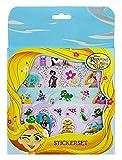 Undercover RAVT0032 - Juego de Pegatinas, diseño de Rapunzel de Disney