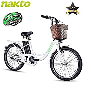 BRIGHT GG ebike with Removable 36V 10AH/48V 12AH Lithium Battery, Lock and Charger(22″/26″)
