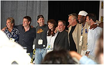 Stargate cast and crew together 8 x 10 Inch photo