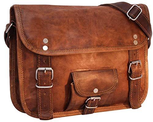 """Gusti Handtasche Leder - \'Emilia 10\""""\' Umhängetasche Ledertasche Vintage Braun Leder Handtasche Umhängetasche Ledertasche Vintage Braun Leder"""