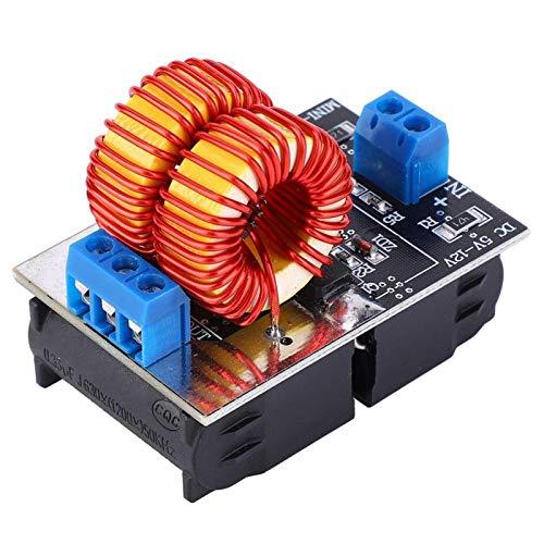 FOLOSAFENAR Placa calefactora Flyback de Bobina calefactora Placa calefactora por inducción de Alta frecuencia de 150 W Módulo Controlador ZVS ZVS para Equipos industriales