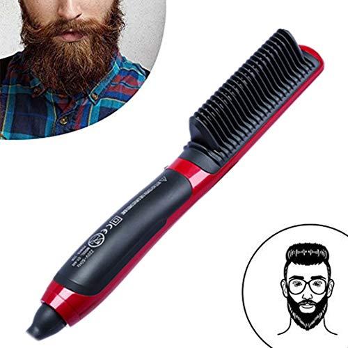 Cepillo alisador ionico Cepillo para el Cabello antiestático Protege el Cabello Los Hombres Mejora la Textura, para Alisar, peinar y secar