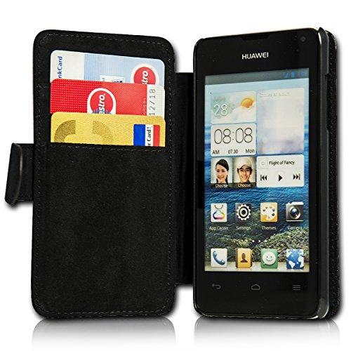 sw-mobile-shop Book Style Flip Handy Tasche Case Schutz Hülle Schale Motiv Etui für Huawei Y360 - Flip 1A46 Design4 - 4