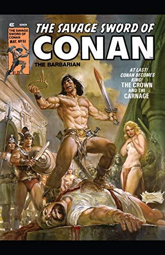 Savage Sword Of Conan (1974-1995) #52 (English Edition)