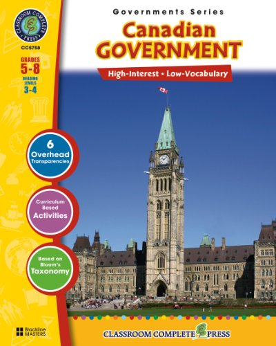 Canadian Government (North American Governments Series Book 2) (English Edition)