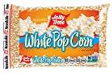 Jolly Time White Popcorn Kernels | Bulk Bags Of Tender Non- GMO & Gluten Free Gourmet Popping Corn, 2 Lb. Bags (Pack Of 12)