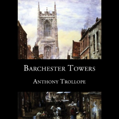 Barchester Towers audiobook cover art