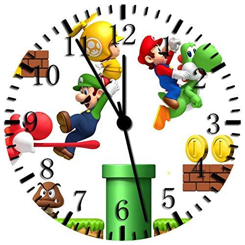 Orologio da parete 25,4cm super Mario Games will be Nice Gift and Room Wall Decor X09
