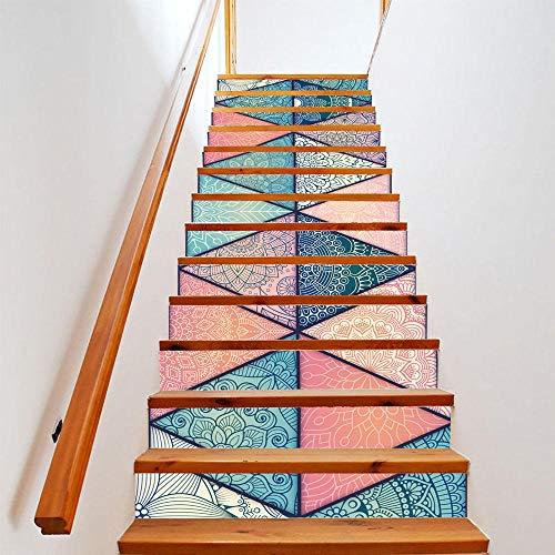 Tiras de Decalque de Vinilo para Escaleras and - Pegatina - Escaleras para el hogar decoración pegatinas para escaleras