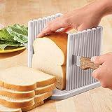 WEIZI 2pack Affettatrice per Pane Affettatrice per Toast Affettatrice per Pane tostato Affettatrice per Bagel Affettatrice per panini Affettatrice per Toast Affettatrice per Pane Pieghevole compat