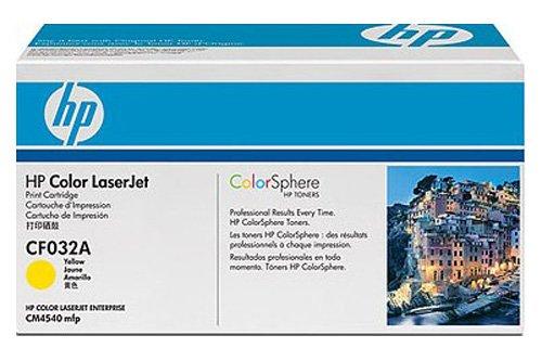 Hewlett-Packard CF032A / 646A - Cartucho de tinta original para impresora Color Laserjet Enterprise cm 4540 f MFP Premium, 12500 páginas, color amarillo