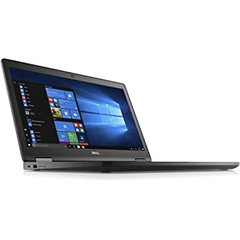 """Amazon.com: Dell Latitude E5570 Intel Core i3-6100U X2 2.3GHz 4GB 500GB  15.6"""", Black (Certified Refurbished): Computers & Accessories"""