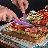 zicheng maoyi Buntes Besteckset aus Edelstahl 24-teilig für Haus Küche Restaurant Besteck Set mit Geschenkbox für 6 Personen, Messer Kuchengabel Löffel Teelöffel Inklusive - 4
