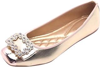 Bottines Femme À Enfiler Ballerines unique Chaussures Cuir verni Chaussures Pompes Casual Dolly