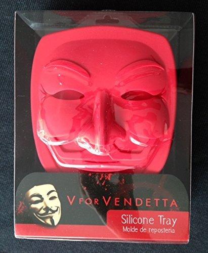 SD Toys SDTWRN02239 Centimeters Molde para horno de silicona dise/ño V De Vendetta Molde Silicona
