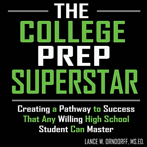 The College Prep Superstar audiobook cover art