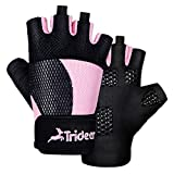 Trideer Breathable Workout Gloves Women, Weight Lifting Gloves,...