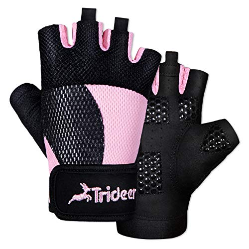 Trideer Breathable Workout Gloves Women, Weight Lifting...